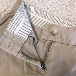LOFT Shorts - Ann Taylor Loft Khaki Chino Shorts